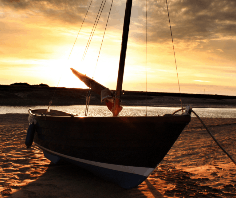 Boat At Blakeney