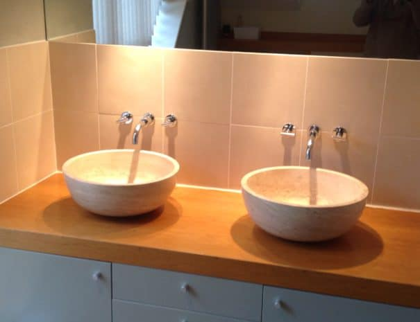 Wash hand basins sycamore