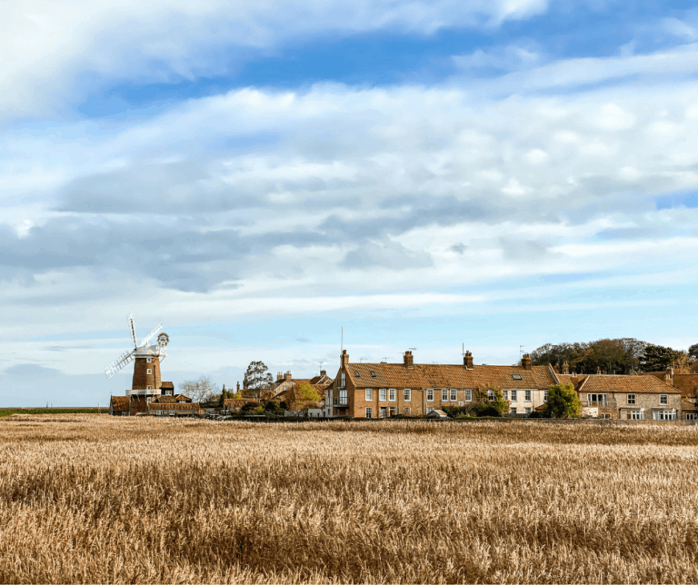 Cley marshes and Windmill