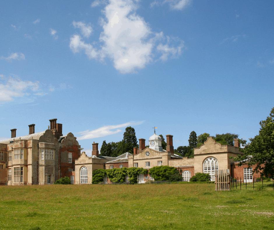 Felbrigg House in The National Trusts Felbrigg Park